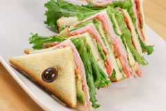 Fresh  sandwich meal Royalty Free Stock Photo