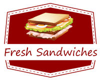 Fresh Sandwiches Royalty Free Stock Photos