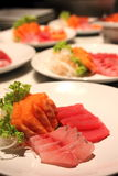 Fresh sashimi Stock Image