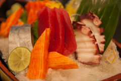 Fresh sashimi. Stock Photos