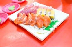 Fresh sashimi Stock Image