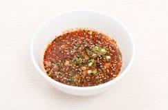 Fresh sauce Stock Photography