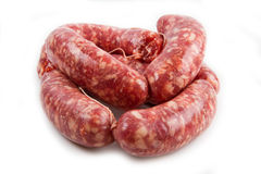 Fresh sausage Stock Images