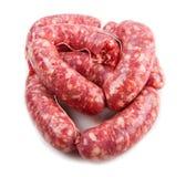 Fresh sausage stock photography