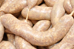Fresh Sausages Stock Photos