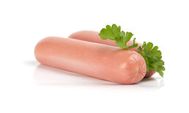 Fresh sausages Royalty Free Stock Photography