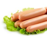 Fresh sausages Stock Photo