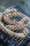 Fresh sausages Stock Photos