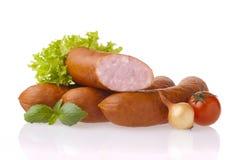 Fresh sausages Stock Image