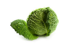 Fresh savoy cabbage Stock Photo