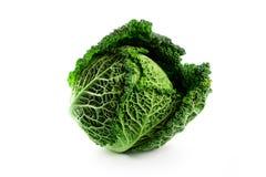 Fresh savoy cabbage Stock Photos