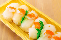 Fresh scallop Royalty Free Stock Images