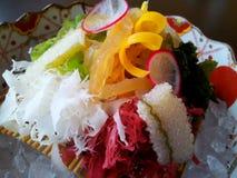 Fresh from the sea. Sashimi @Okura hotel Bangkok Royalty Free Stock Photography