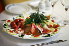 Fresh seafood Royalty Free Stock Photography