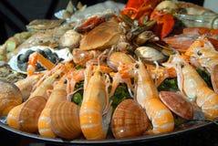 Fresh seafood Royalty Free Stock Photo