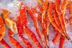Fresh seafood background Royalty Free Stock Photography