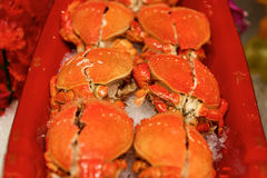 Fresh Seafood crabs Stock Photography