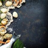 Fresh seafood Stock Photo