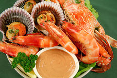Seafood Platter Stock Photo