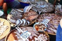 Fresh seafood on sale Stock Photography