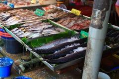 Fresh seafood shop Royalty Free Stock Image