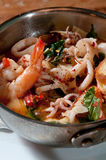 Fresh seafood stew Stock Photo