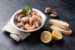 Fresh seafood Stock Photos