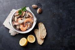 Fresh seafood Royalty Free Stock Photos