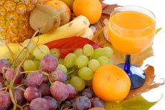 Fresh seasonal fruit Stock Images