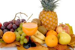 Fresh seasonal fruit Stock Images
