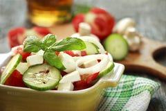 Fresh seasonal salad Stock Image