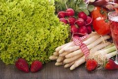 Fresh seasonal vegetables Royalty Free Stock Photos