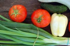 Fresh seasonal vegetables Stock Image