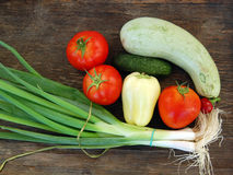 Fresh seasonal vegetables Stock Photography