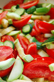 Fresh seasonal vegetables Royalty Free Stock Photo