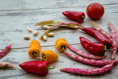 Fresh seasonal vegetables Royalty Free Stock Photography
