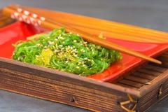 Fresh Seaweed Salad Royalty Free Stock Photo