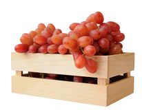 Grape in crate Royalty Free Stock Photography