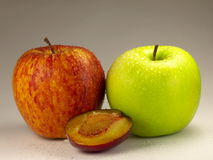 A fresh serving of fruit Royalty Free Stock Images