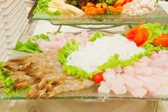 Fresh set food Stock Photos