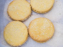 Fresh shortbread cookies Stock Images