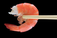 Fresh shrimp Royalty Free Stock Photography
