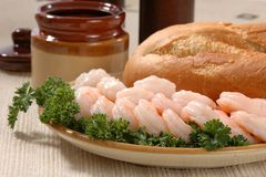 Fresh Shrimp Stock Images