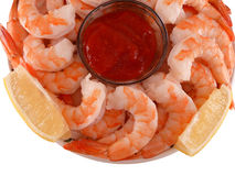 Fresh Shrimp Cocktail Royalty Free Stock Image