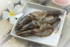 Fresh shrimp. Royalty Free Stock Images