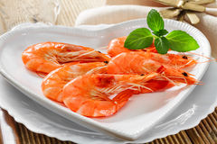 Fresh shrimp Royalty Free Stock Photo