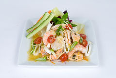 Free Fresh Shrimp Salad Stock Photography - 9431772