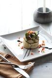 Fresh shrimp salad Stock Image