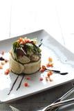 Fresh shrimp salad Stock Images