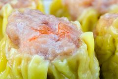 Fresh Shumai Dim Sum Stock Photography